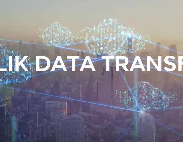 qlik data transfer saas cloud