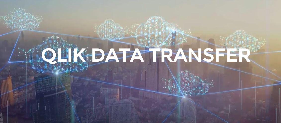 qlik data transfer saas cloud