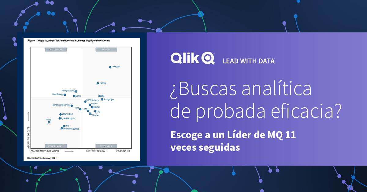 Gartner BI 2021 Análisis de Datos