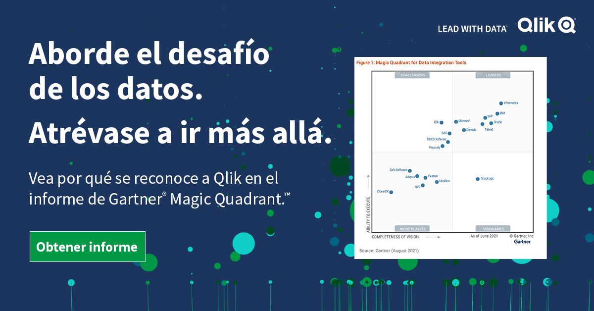 Gartner Magic Quadrant 2021 integración de datos